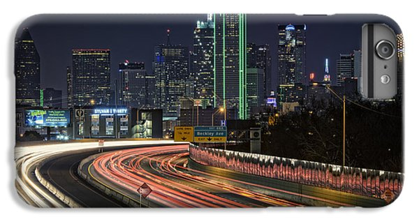 Dallas Skyline iPhone 6s Plus Case - Big D by Rick Berk