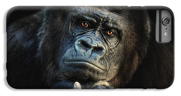 Gorilla iPhone 6s Plus Case - Big Dreamer by Joachim G Pinkawa