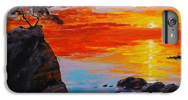 Ocean Sunset iPhone 6s Plus Case - Big Sur Sunset by Graham Gercken