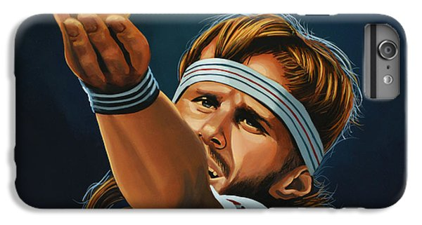 Bjorn Borg IPhone 6s Plus Case by Paul Meijering