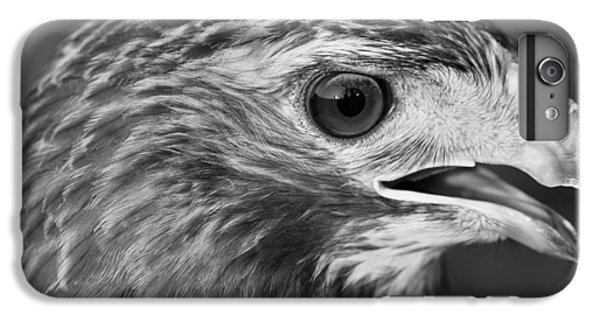 Black And White Hawk Portrait IPhone 6s Plus Case