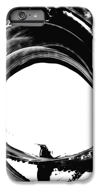 Abstract iPhone 6s Plus Case - Black Magic 304 By Sharon Cummings by Sharon Cummings