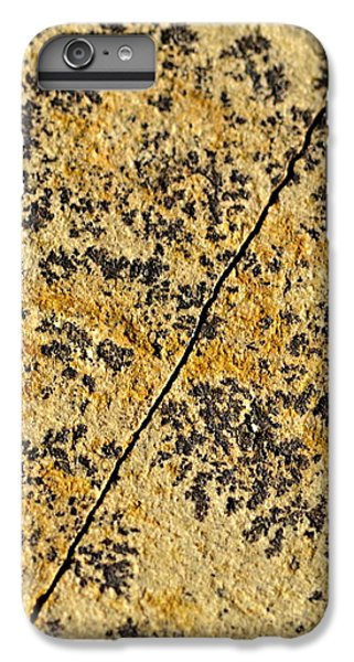 Black Patterns On The Sandstone IPhone 6s Plus Case