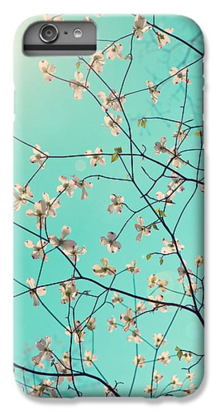 White iPhone 6s Plus Case - Bloom by Kim Fearheiley