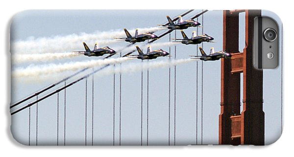 Blue Angels And The Bridge IPhone 6s Plus Case