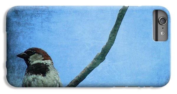 Sparrow On Blue IPhone 6s Plus Case