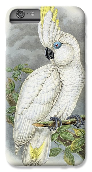 Blue-eyed Cockatoo IPhone 6s Plus Case by William Hart