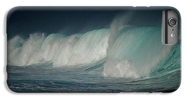 Explosion iPhone 6s Plus Case - Blue by Mathilde Guillemot
