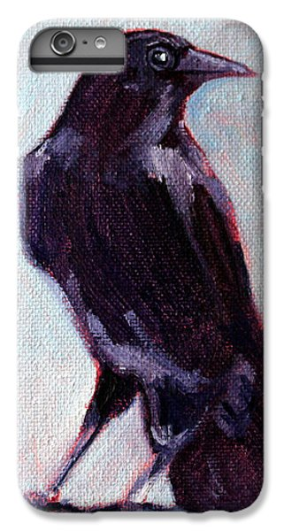 Blue Raven IPhone 6s Plus Case by Nancy Merkle