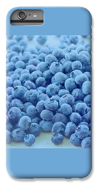 Blueberry iPhone 6s Plus Case - Blueberries by Romulo Yanes