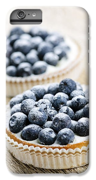 Blueberry iPhone 6s Plus Case - Blueberry Tarts by Elena Elisseeva