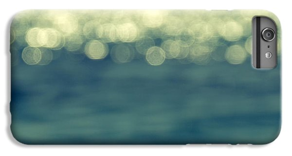 White iPhone 6s Plus Case - Blurred Light by Stelios Kleanthous