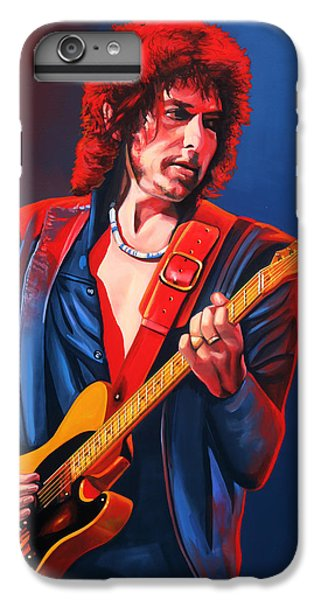 Bob Dylan Painting IPhone 6s Plus Case