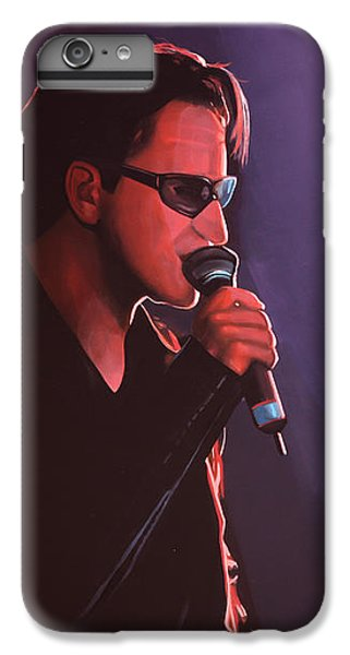 Bono U2 IPhone 6s Plus Case by Paul Meijering