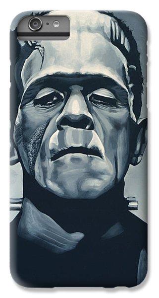 Portraits iPhone 6s Plus Case - Boris Karloff As Frankenstein  by Paul Meijering