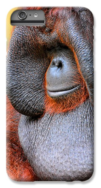 Bornean Orangutan Vi IPhone 6s Plus Case by Lourry Legarde