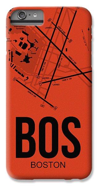 Boston Airport Poster 2 IPhone 6s Plus Case