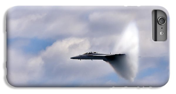 Airplane iPhone 6s Plus Case - Breaking Through by Adam Romanowicz