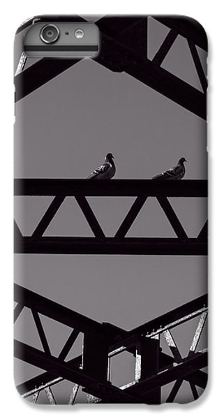 Pigeon iPhone 6s Plus Case - Bridge Abstract by Bob Orsillo