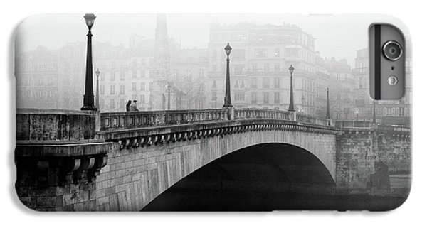 Town iPhone 6s Plus Case - Bridge In The Mist by Madras91