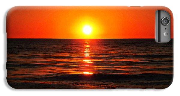 Ocean Sunset iPhone 6s Plus Case - Bright Skies - Sunset Art By Sharon Cummings by Sharon Cummings