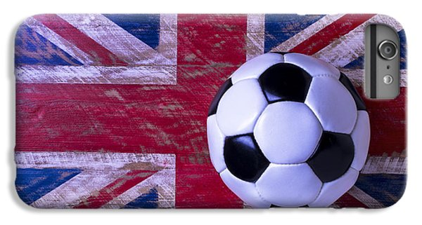 Soccer iPhone 6s Plus Case - British Flag And Soccer Ball by Garry Gay