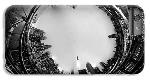 Brooklyn Bridge iPhone 6s Plus Case - Brooklyn Bridge Circagraph 4 by Az Jackson
