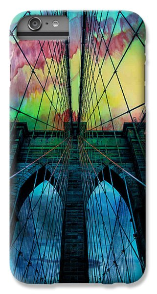 Psychedelic Skies IPhone 6s Plus Case by Az Jackson