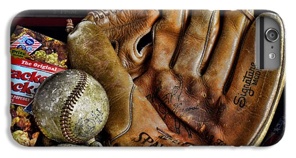 Wrigley Field iPhone 6s Plus Case - Buy Me Some Peanuts And Cracker Jacks by Ken Smith