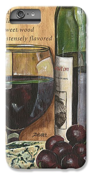 Wood iPhone 6s Plus Case - Cabernet Sauvignon by Debbie DeWitt