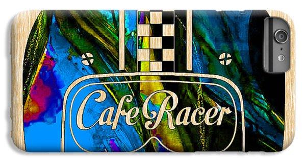 Cafe Racer Motorcycle Helmet IPhone 6s Plus Case