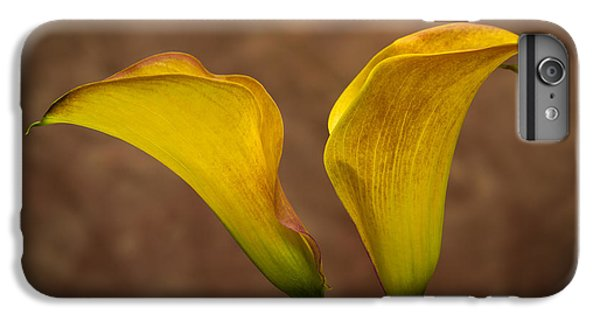 IPhone 6s Plus Case featuring the photograph Calla Lilies by Sebastian Musial