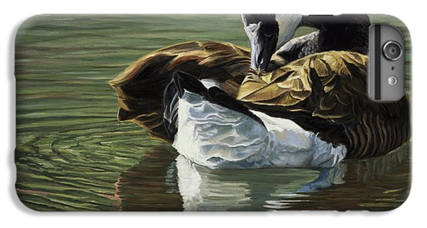 Canadian Goose IPhone 6s Plus Case by Lucie Bilodeau