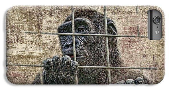 Ape iPhone 6s Plus Case - Captivity by Tom Mc Nemar