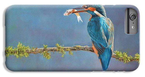 Kingfisher iPhone 6s Plus Case - Catch Of The Day by David Stribbling