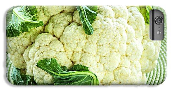 Cabbage iPhone 6s Plus Case - Cauliflower by Elena Elisseeva