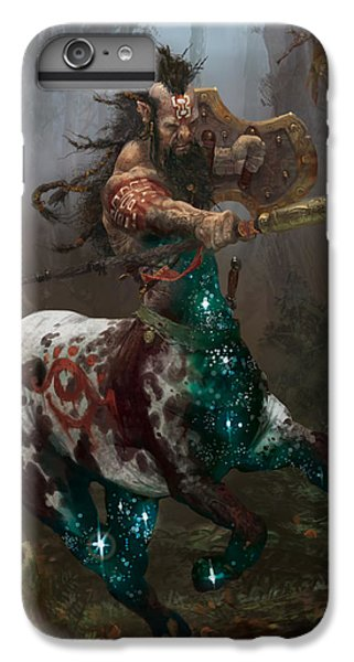 Centaur Token IPhone 6s Plus Case by Ryan Barger