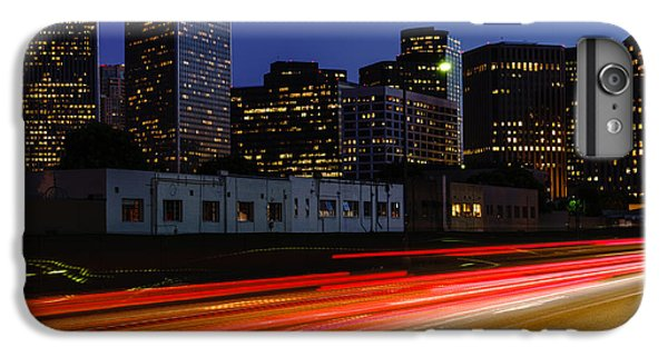 Beverly Hills iPhone 6s Plus Case - Century City Skyline At Night by Paul Velgos