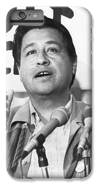 Cesar Chavez Announces Boycott IPhone 6s Plus Case