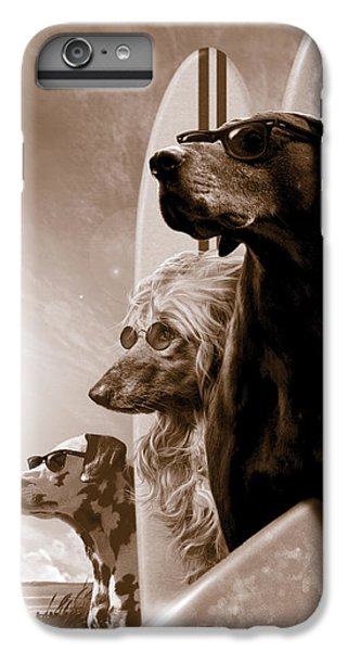 Dog iPhone 6s Plus Case - Changes by Garry Walton