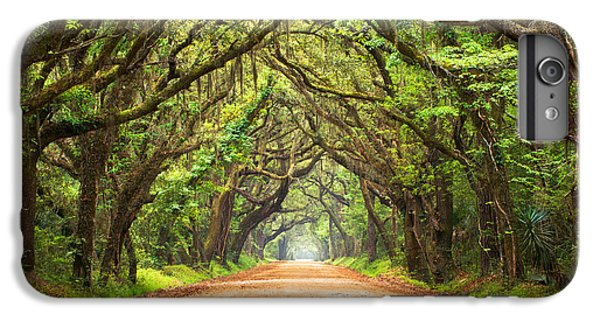 Charleston Sc Edisto Island - Botany Bay Road IPhone 6s Plus Case by Dave Allen