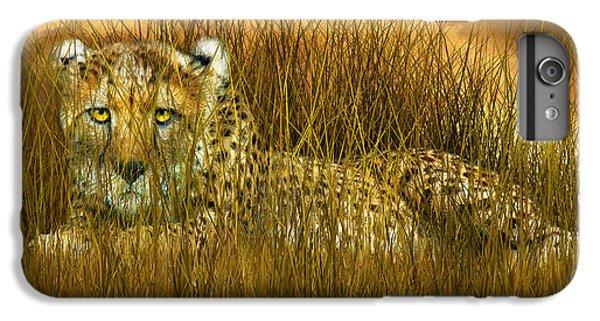 Cheetah - In The Wild Grass IPhone 6s Plus Case by Carol Cavalaris