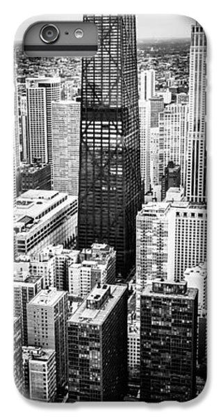 Hancock Building iPhone 6s Plus Case - Chicago Aerial Vertical Panoramic Picture by Paul Velgos