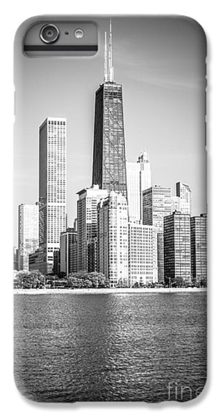 Hancock Building iPhone 6s Plus Case - Chicago Hancock Building Black And White Picture by Paul Velgos