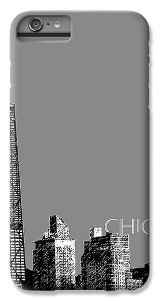 Hancock Building iPhone 6s Plus Case - Chicago Hancock Building - Pewter by DB Artist