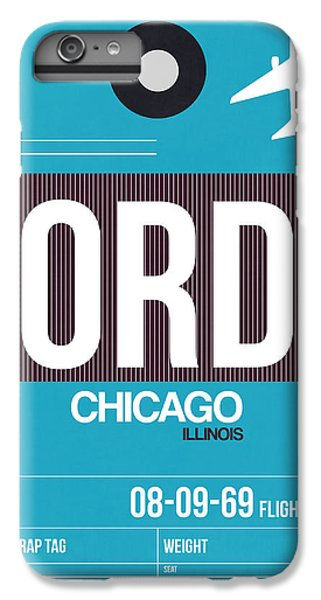 Chicago Luggage Poster 1 IPhone 6s Plus Case