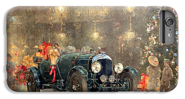 Car iPhone 6s Plus Case - Christmas Bentley by Peter Miller