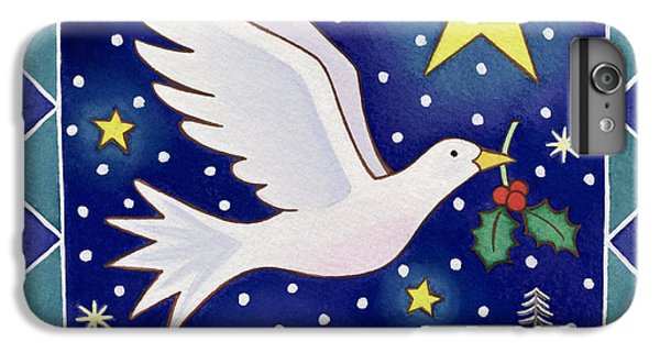 Christmas Dove  IPhone 6s Plus Case by Cathy Baxter