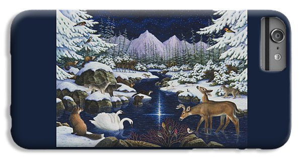 Otter iPhone 6s Plus Case - Christmas Wonder by Lynn Bywaters