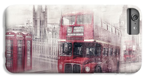City-art London Westminster Collage II IPhone 6s Plus Case by Melanie Viola